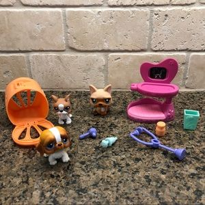Lot of Littlest Pet Shop Puppy Dogs EUC